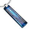 bijoux Pendentif acier The Blue Lords Prayer