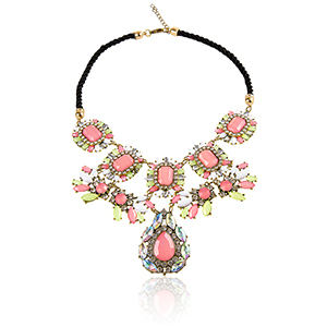 Collier-fantaisie-multicolore-Strass